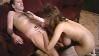 Big tits and grandiose white colored milf sucking elevate of their partner