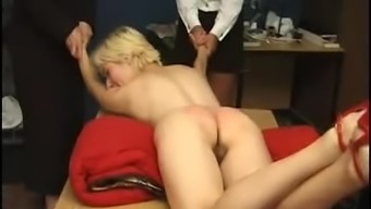 Injured and spanked very difficult
