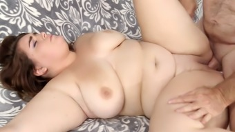 Plus-size woman Maxie Satisfaction enhance and gets fucked