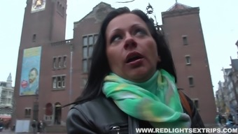 Real date travels a prostitute for her first lesbian love-making