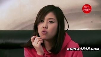 KOREA1818.COM - Residence Alone Youngster Girl Natural