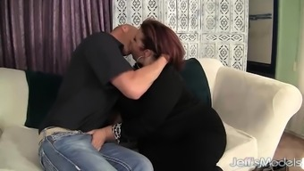 Reasonably Plumper Is Fucked in her own Pussy