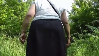 Upskirt bum within the woods Stage One.mp4