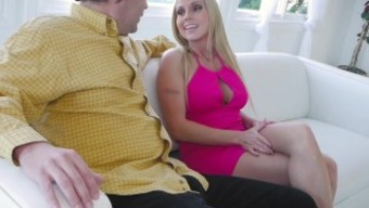 FamilyStrokes - Persuaded BY My Sizzling Gold-Digging Step-Mom