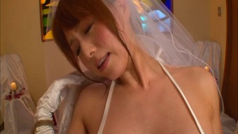Japanese people bride to be in panties treasured along with big dongs serious