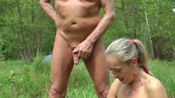 Auto Flashing, wanking in woodworking and seaside, sex with visitor