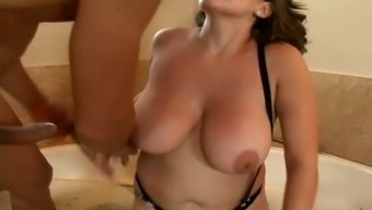 Big tits Selena Castro gets fucked serious in their your mouth and vagina