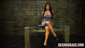 Busty milf Alexa Pierce involved and mortified such as a trudge