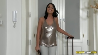 Gorgeous infant Aida Adorable gives head penis and gets fucked like there aren't any in the near future