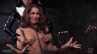 This mature blond is incredibly kinky and of course the nun is going to punish her!
