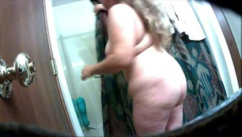 Large Nipple Wifey After Shower unit on Veiled Cam 2 or more