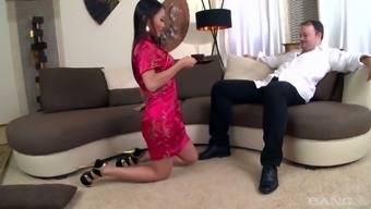 This From asia VIP slut is present in remarkable demand being a hooker and she knows her task