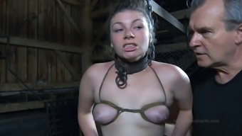 Major loot thralldom toy fine booty getting spanked in BDSM