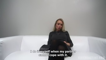 Age milf speaks concerning her perverted sexual intercourse life span on camera