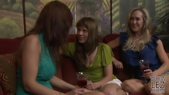 Chastity Lynn And Marie McCray Make One another Semen