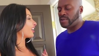 Anissa Kate Analed by Big Dark colored Prick