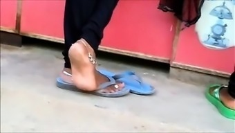 Frank indian anklet both your feet shoeplay in flipflops