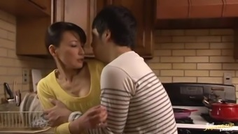 Great Age Japanese people Delivering a great Blowjob with the cooking