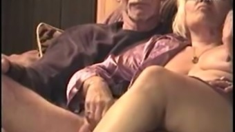 The selfmade online video media of my nanna and grandpa enjoyable each other