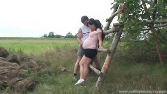 Stunning becomes pregnant love is naughty as torture and demands to really fuck outdoor