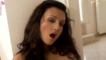 Aletta might use a choice dildo to help make her cunt leaking wet