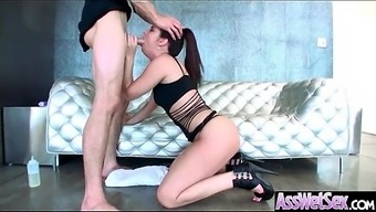Large Oiled Ass Heated Love (Brittany Shae) Like And Enjoy Profound Anal Intercourse mov-18