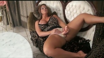 Alura Grows a Cock and Pumps Out Her Own Sperm