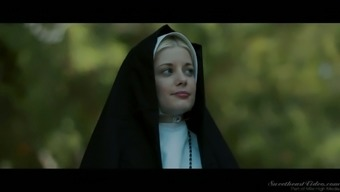 Sinful red colored haired nun Cents Pax is consequently into trouncing soppy pussy outdoors