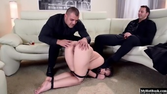 Akasha Cullen is commercial such as a token of appreciation for her two different Doms