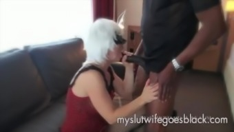 light colored wifey Alexia Thomas first converse with big dark colored cock to effectively persuade